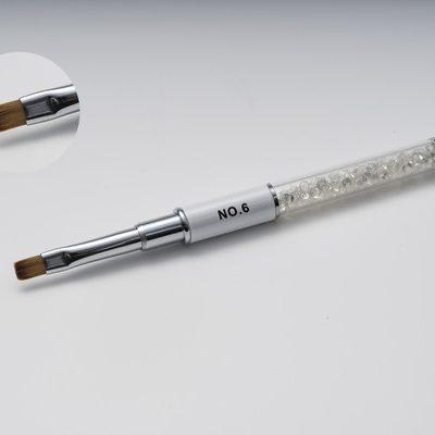 Gel Brush Flat No6 (white )