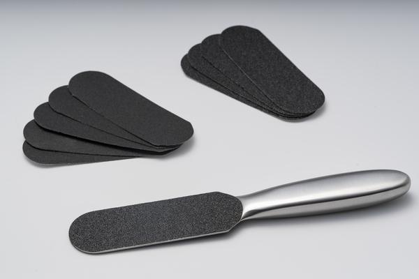 Ανοξείδωτη Ράσπα ποδιών με δώρο10 ανταλακτικά