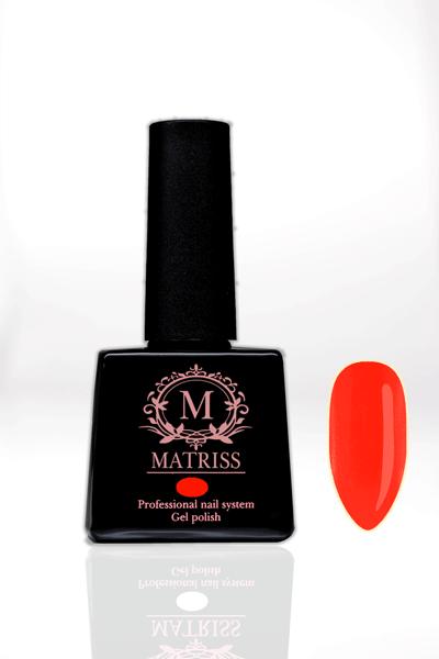Ημιμόνιμο βερνίκι Neon Κόκκινο-Κοραλί M137
