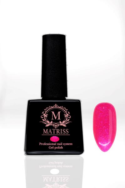 Ημιμόνιμο βερνίκι Neon Φούξια με γκλίτερ M155