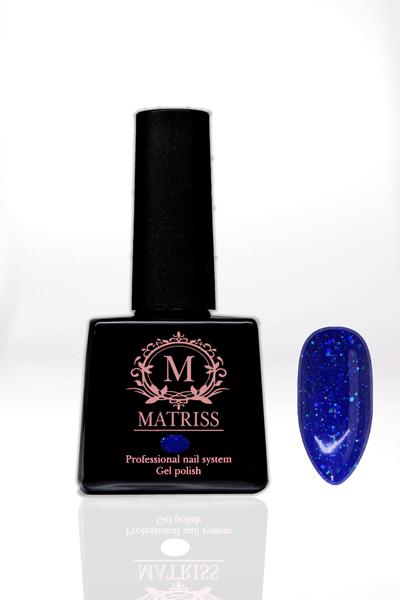 Ημιμόνιμο βερνίκι Μπλε Γκλίτερ M189